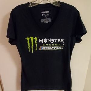 Nascar Cup Monster energy tee sz S.